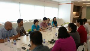 Pointwest CEO Beng Coronel and staff of Senator Bam meet with NOI.PH Team