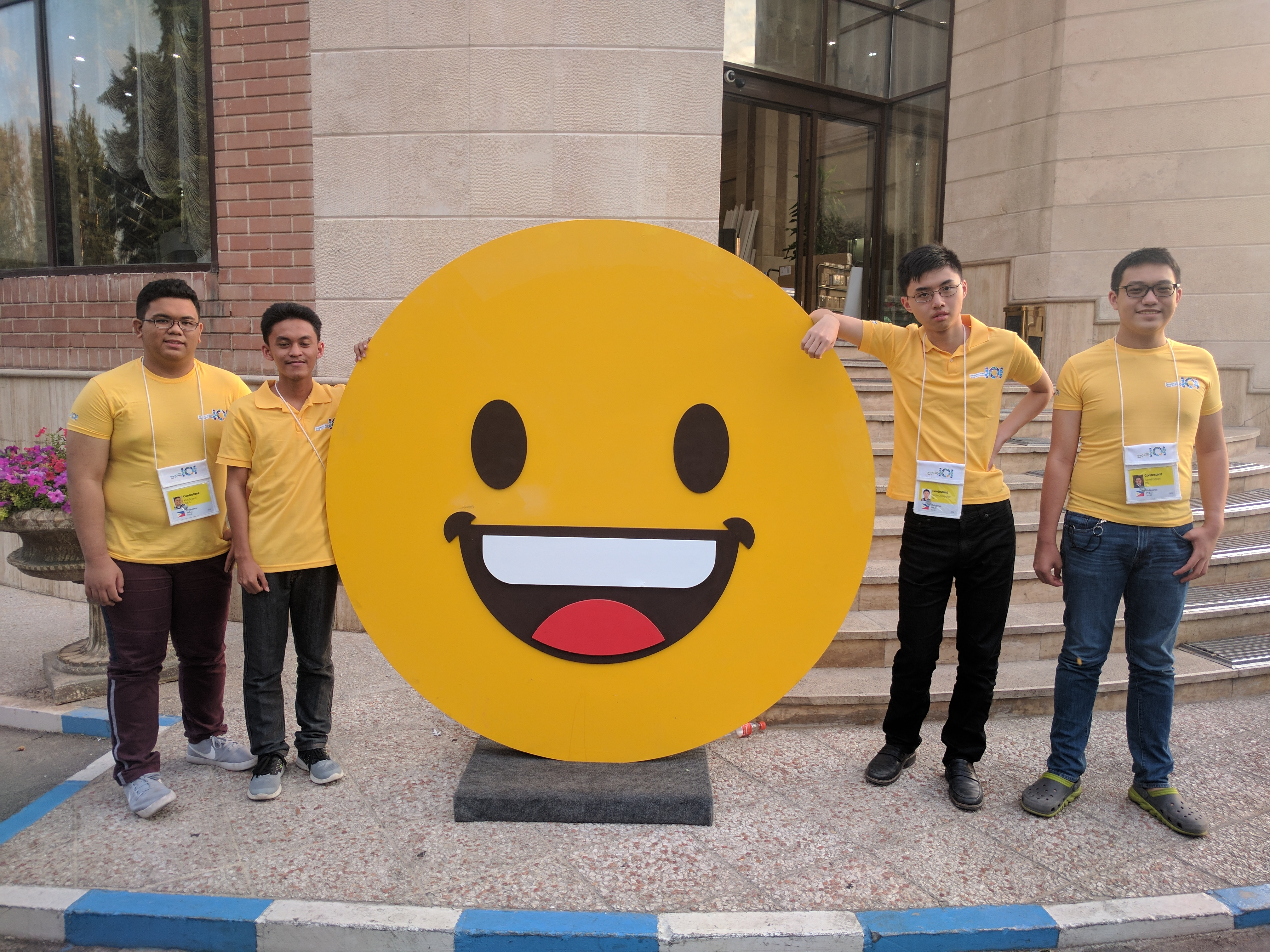 PH team bags first silver medal at the International Olympiad in Informatics