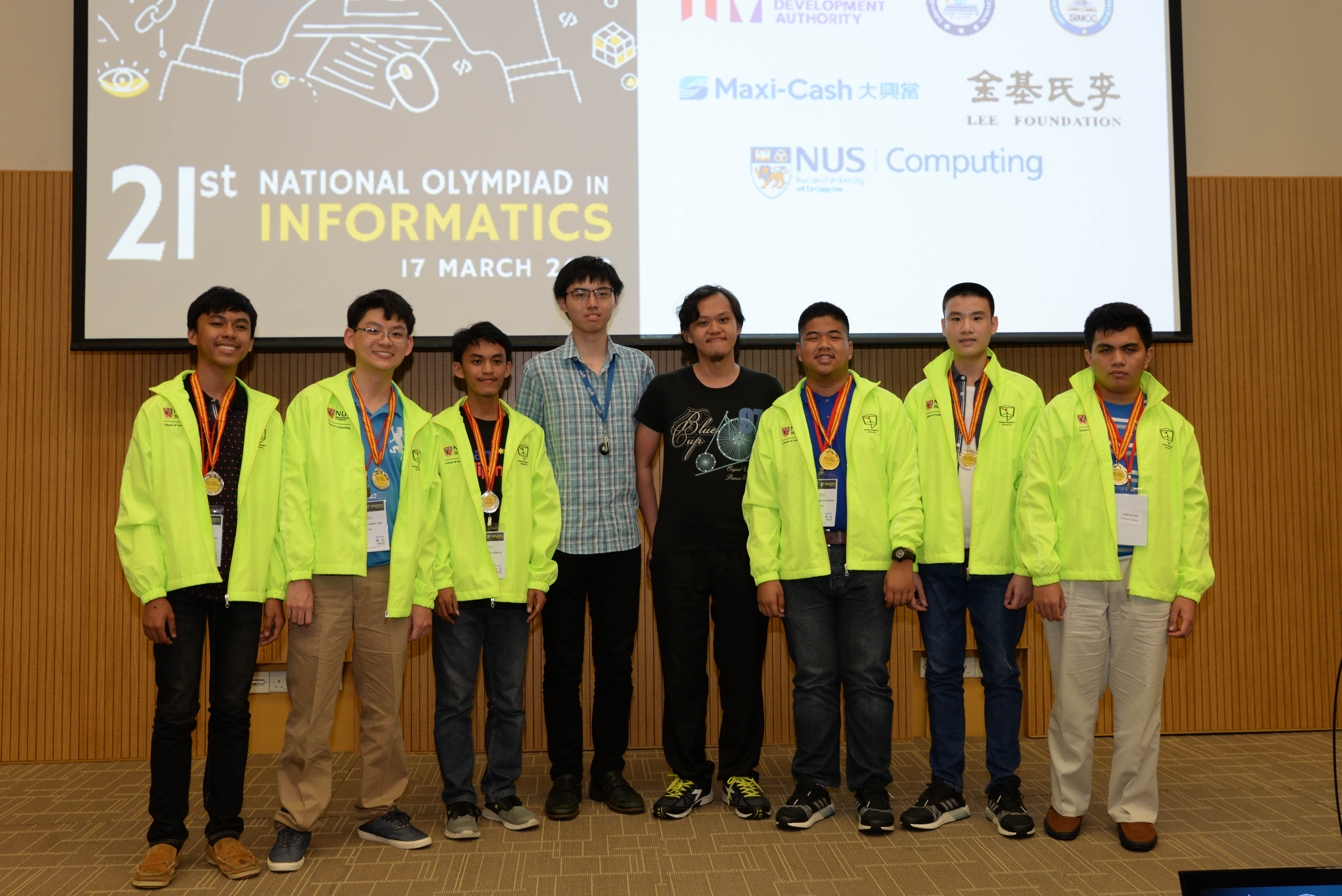 All Filipino participants bag medals in Singapore Informatics Olympiad
